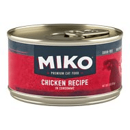 Miko Chicken Recipe in Consomme Grain-Free Cat Food