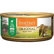 Instinct by Nature's Variety Original Grain-Free Real Lamb Recipe Natural Wet Canned Cat Food