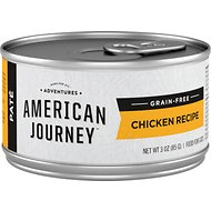 American Journey Pate Chicken Recipe Grain-Free Canned Cat Food