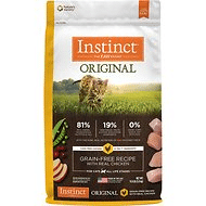 Instinct by Nature's Variety Original Grain-Free Recipe with Real Chicken Dry Cat Food